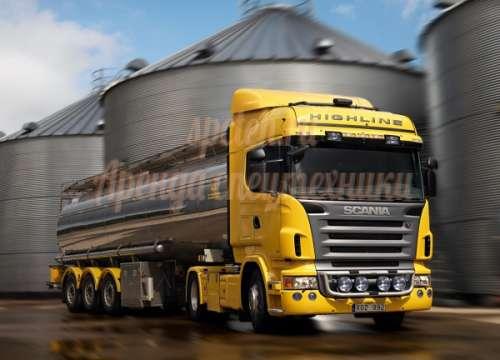 Бензовоз Scania