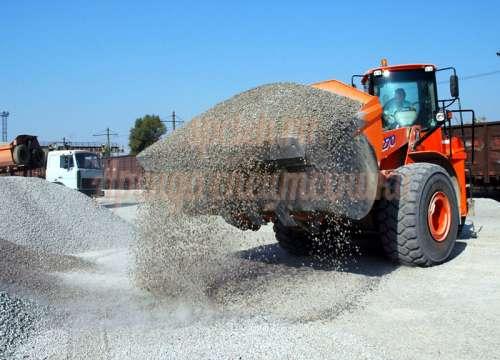 Доставка сыпучих материалов песок, щебень, гравий, отсев, камень, уголь